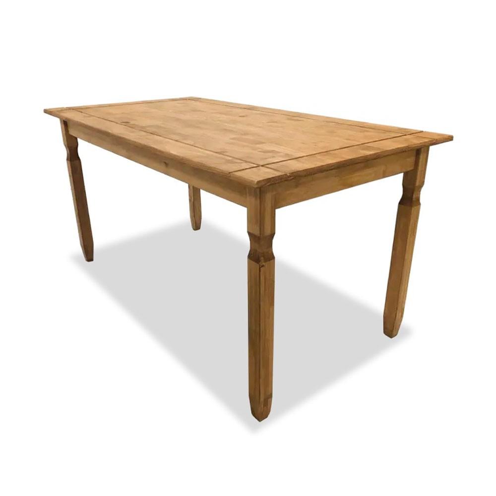 Mesa de Jantar Rustica 150x80 cm.