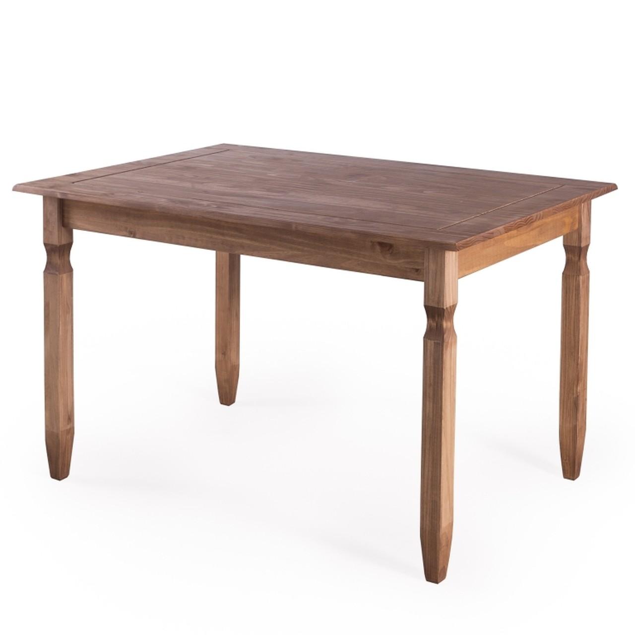 Mesa de Jantar Rustica - Denk 120x80
