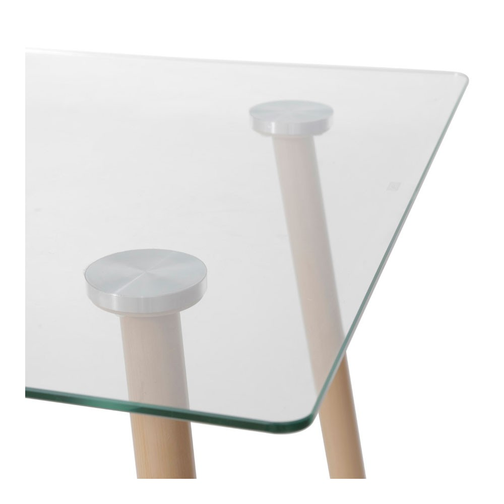 Mesa de Jantar Vitralle - Madeira 120x80