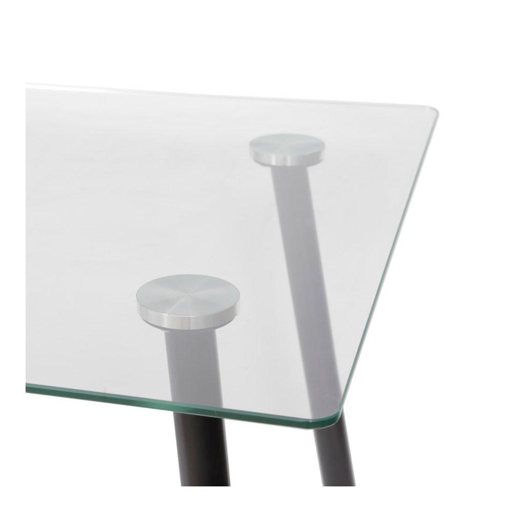 Mesa de Jantar Vitralle - Preta 120x80