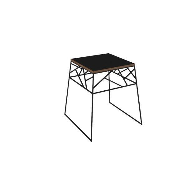 Mesa Lateral Spider - Preto