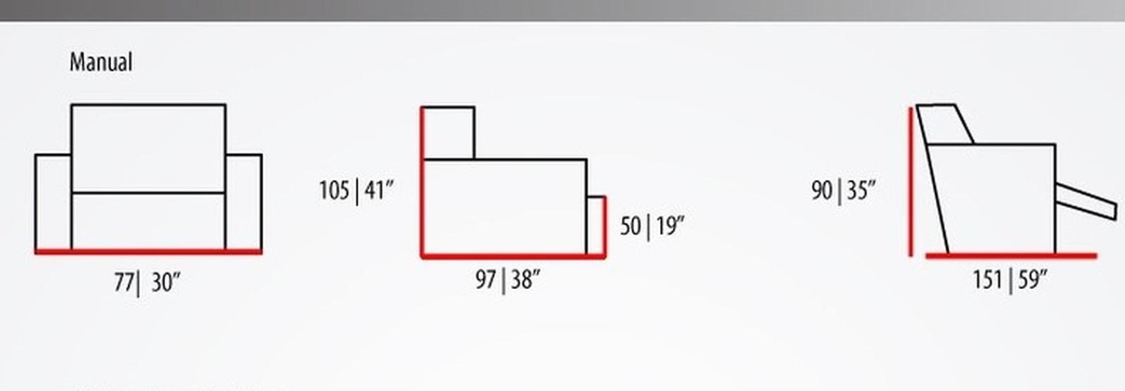 Poltrona Reclinável MH 3791 Herval