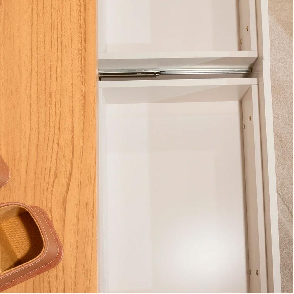 Rack Minimal 2,20 cm - Cinamomo e Off White