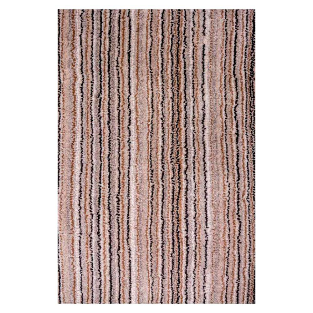 Tapete Indiano Kali Light Brown / Multi feito à mão - 200 x 250 cm