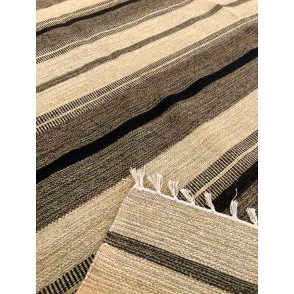 Tapete Kilim Cotton 100 x 150 cm - Natural.