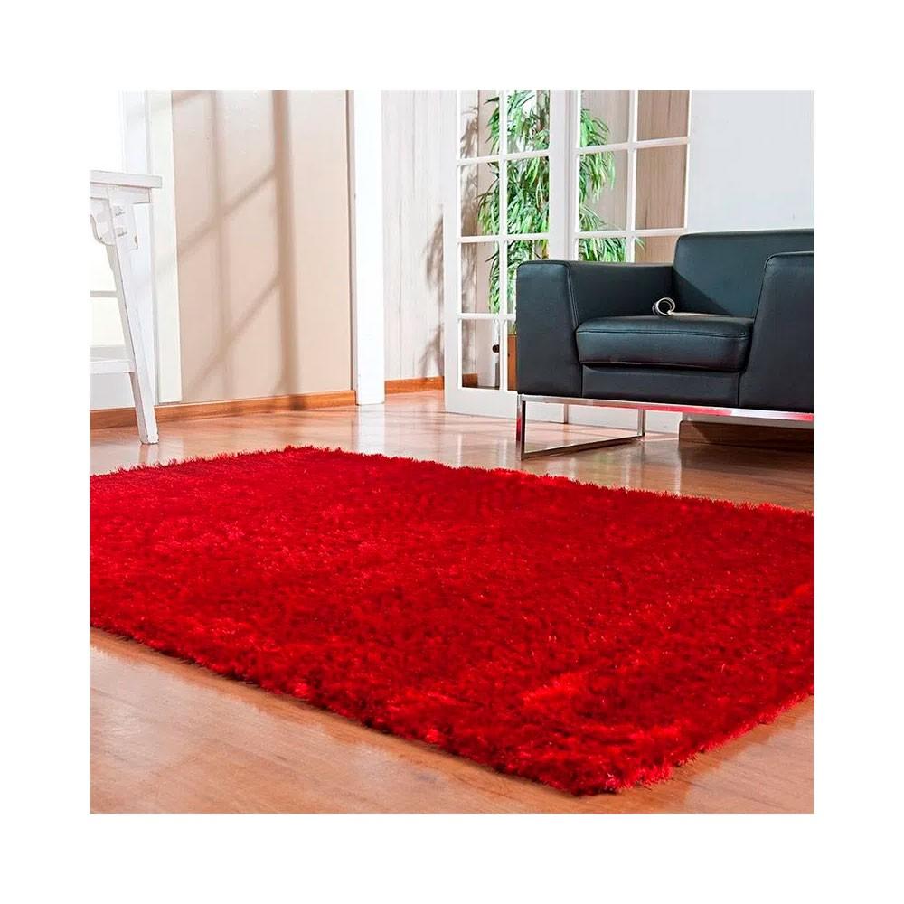 Tapete Silk Shaggy 200 x 300 - Vermelho