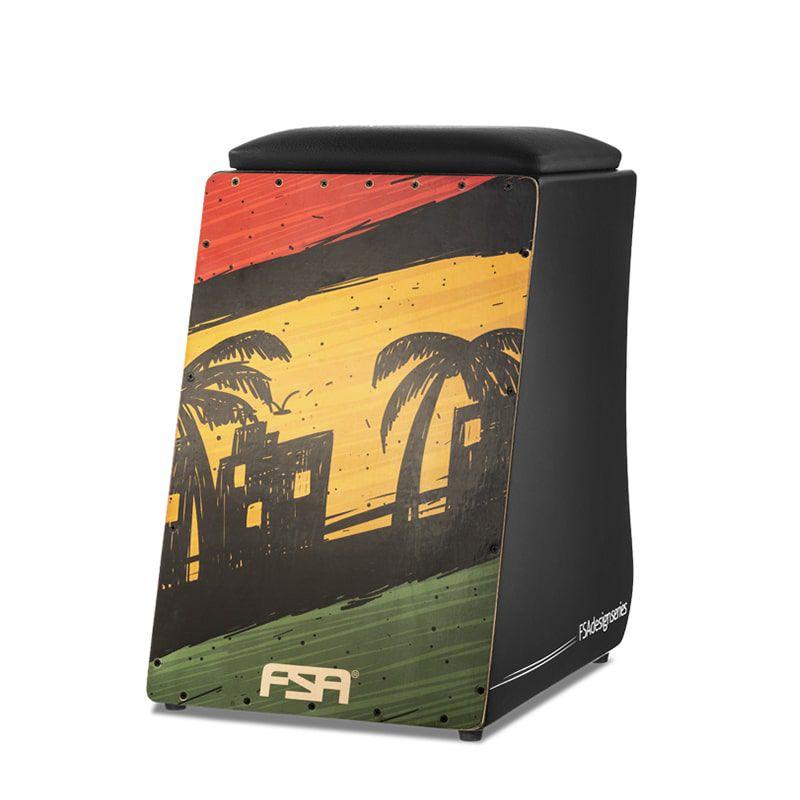 Cajon FSA Design - Reggae
