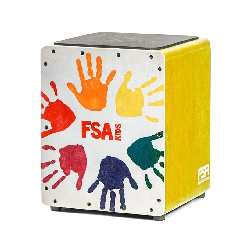 Cajon FSA Kids - Amarelo