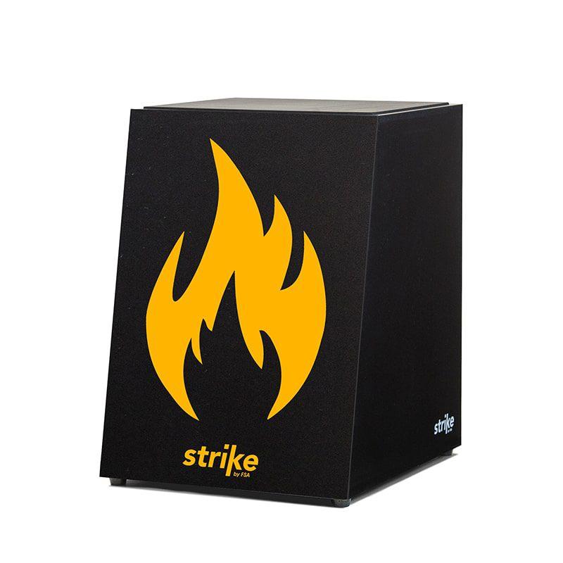 Cajon Strike Acústico - Fire