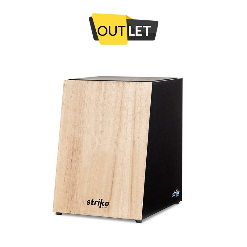 Cajon Strike Acústico Natural - Outlet