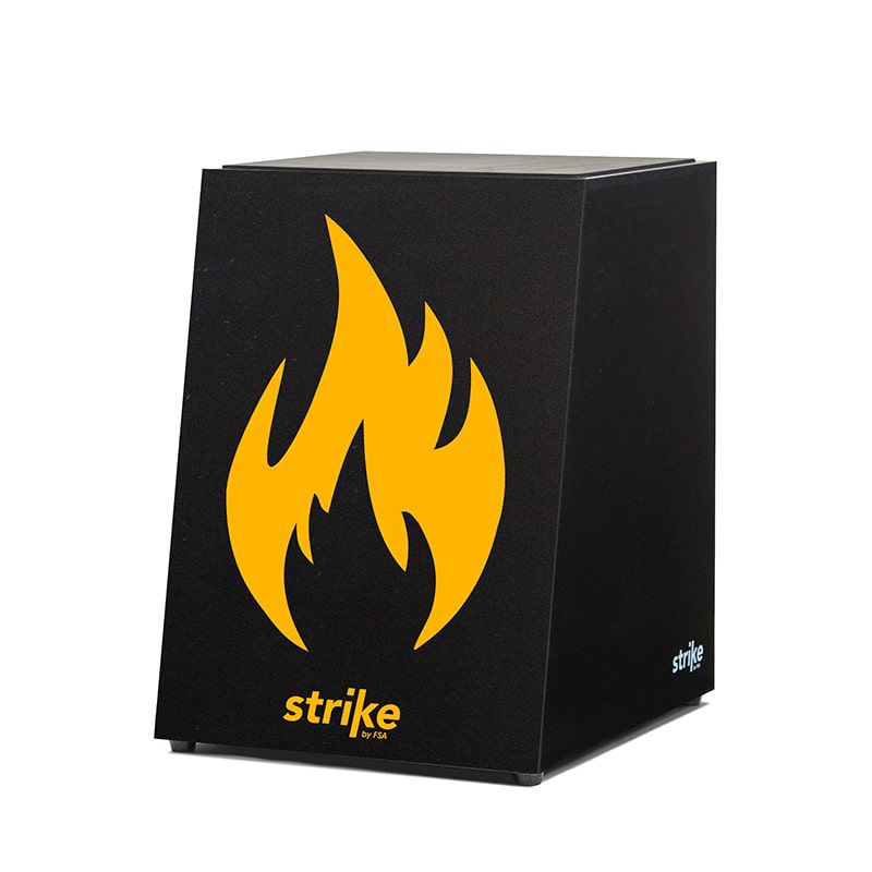 Cajon Strike Elétrico - Fire