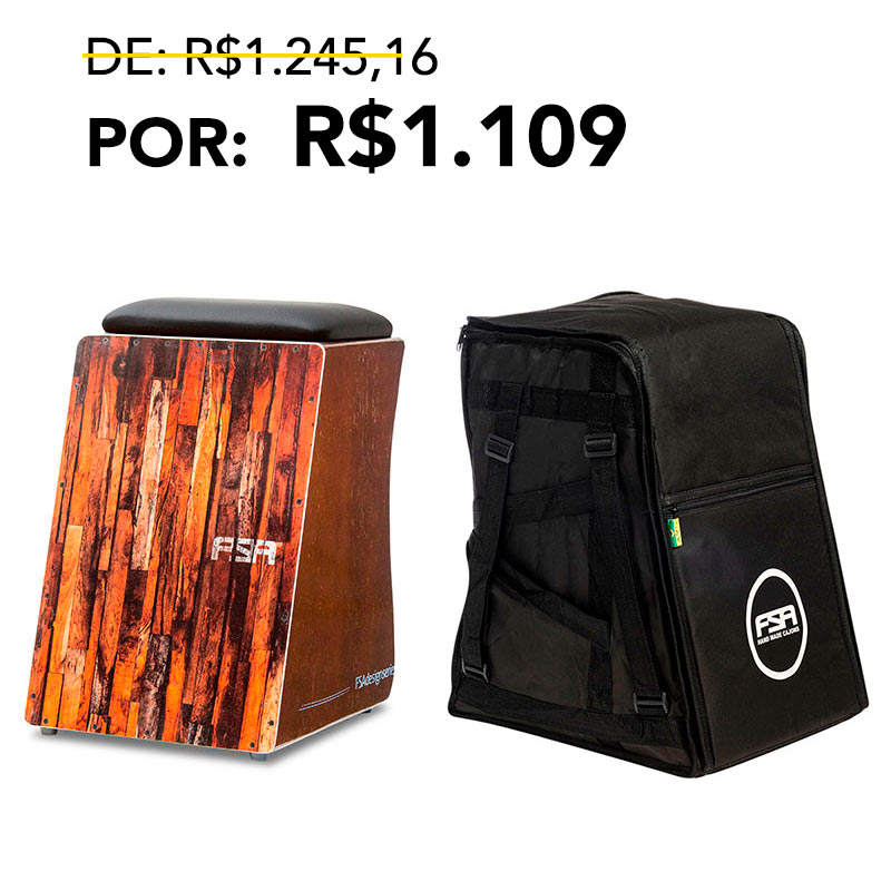 Kit Cajon Design + Bag