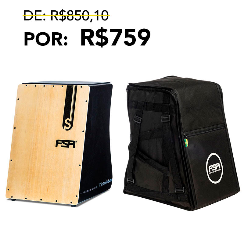 Kit Cajon Standard + Bag