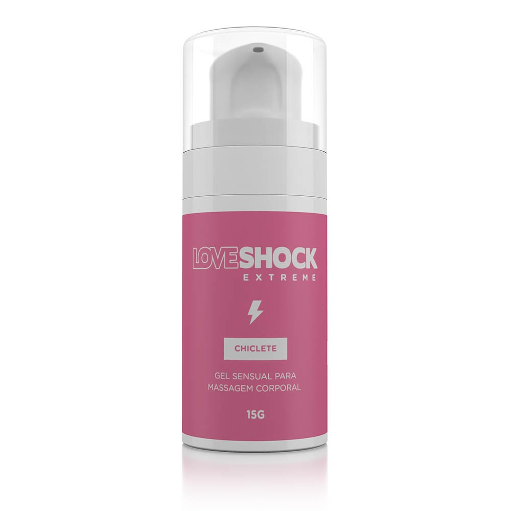 Gel Excitante Loveshock Chiclete