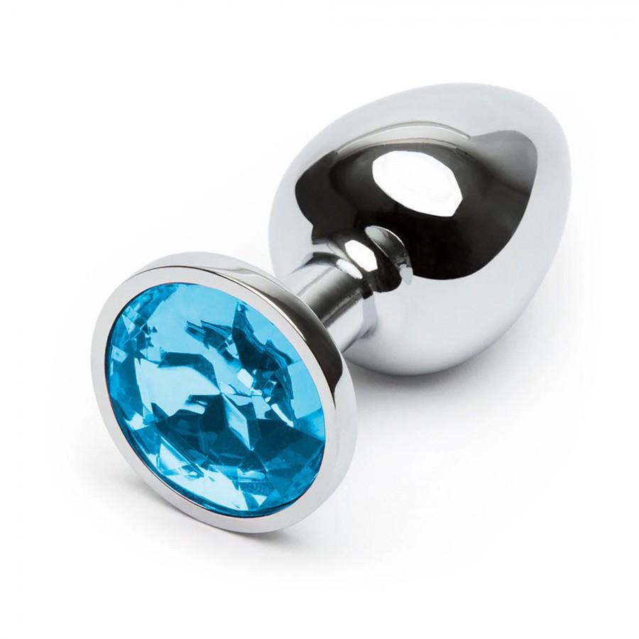 Plug Anal Metal Azul
