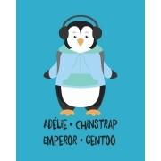 Camiseta Adélie, Chinstrap, Emperor, Gentoo - Atypical
