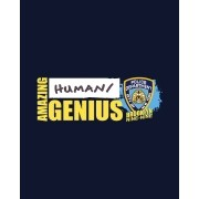 Camiseta Amazing Human/Genius - Brooklyn Nine Nine