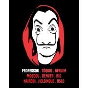 Camiseta Dalí - La Casa de Papel