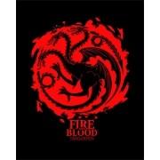 Camiseta House Targaryen - Fire and Blood - Game of Thrones