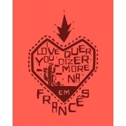 """Camiseta """"I love you"""" quer dizer """"Morena"""", em francês - O auto da compadecida"""