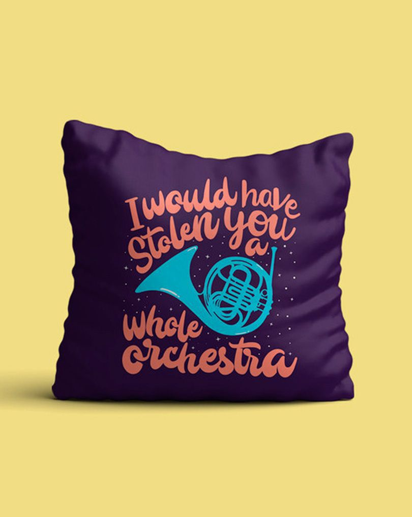 Almofada I would have stolen you a whole orchestra - How I met your mother