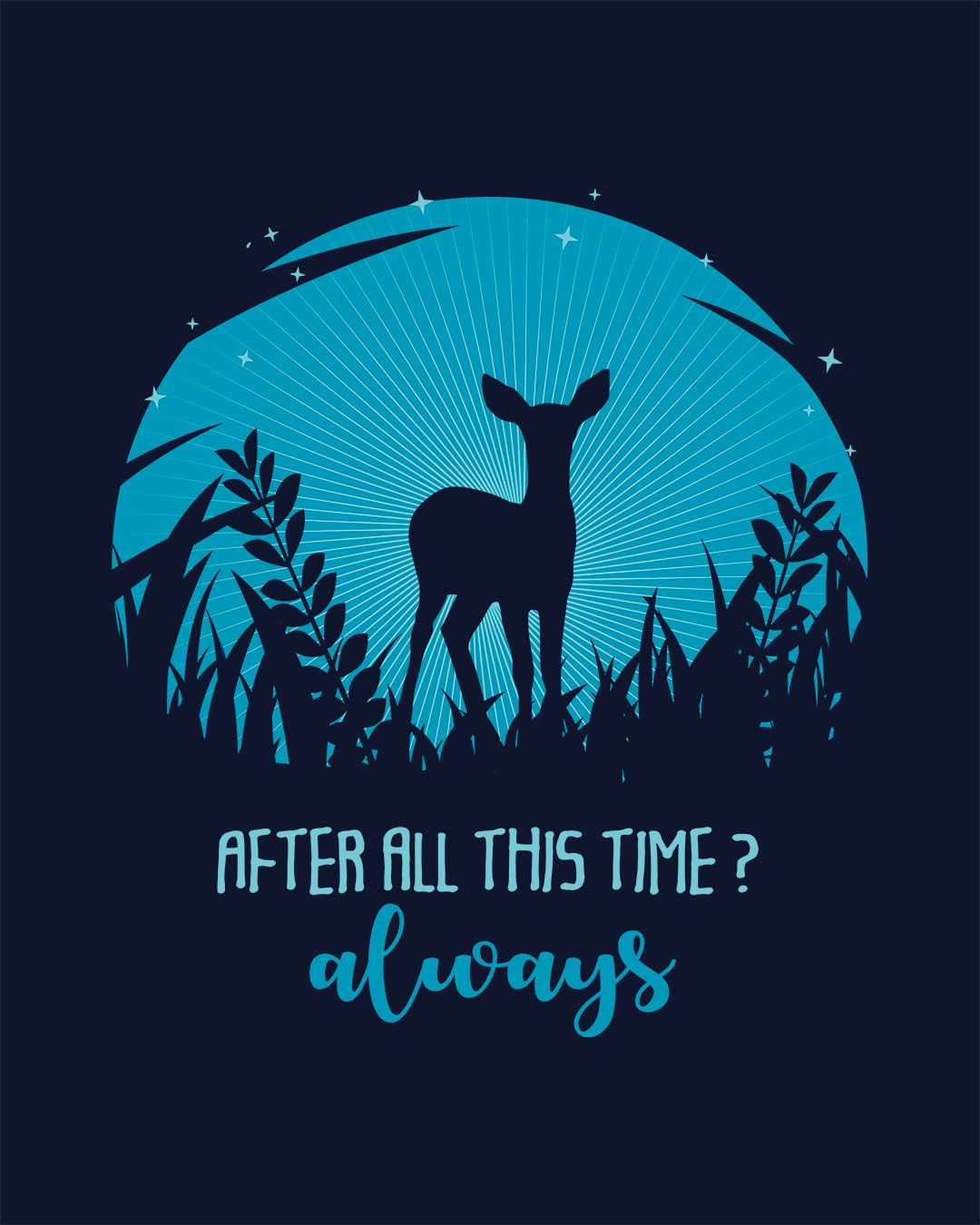 Camiseta After all this time? Always - Harry Potter