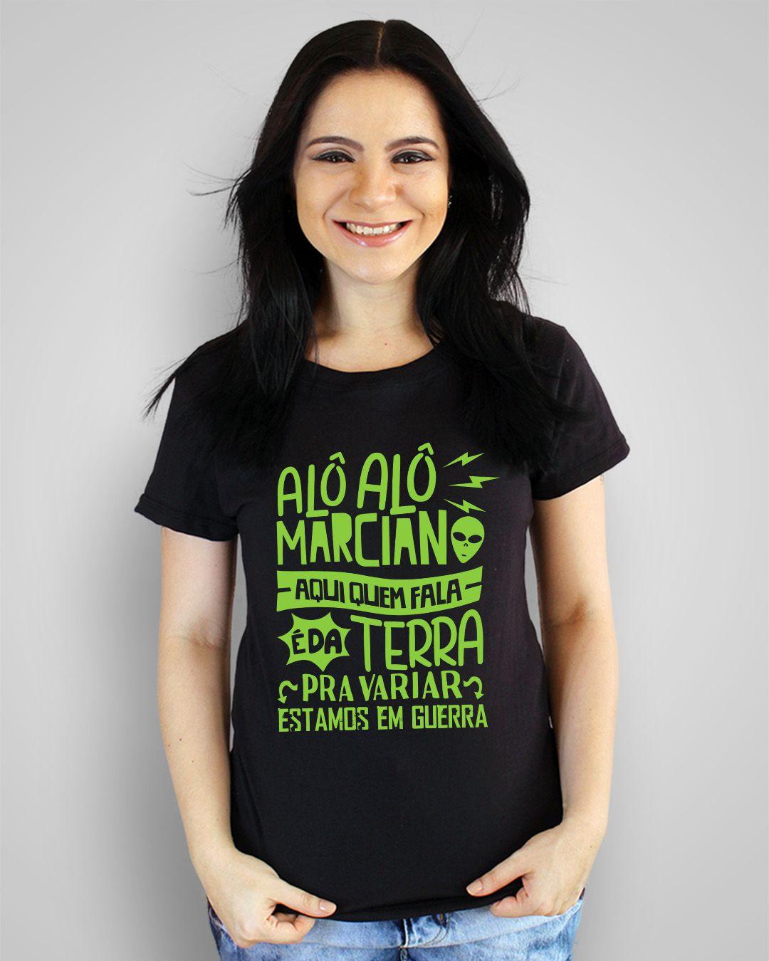 Camiseta Alô alô marciano, aqui quem fala é da terra... - Elis Regina