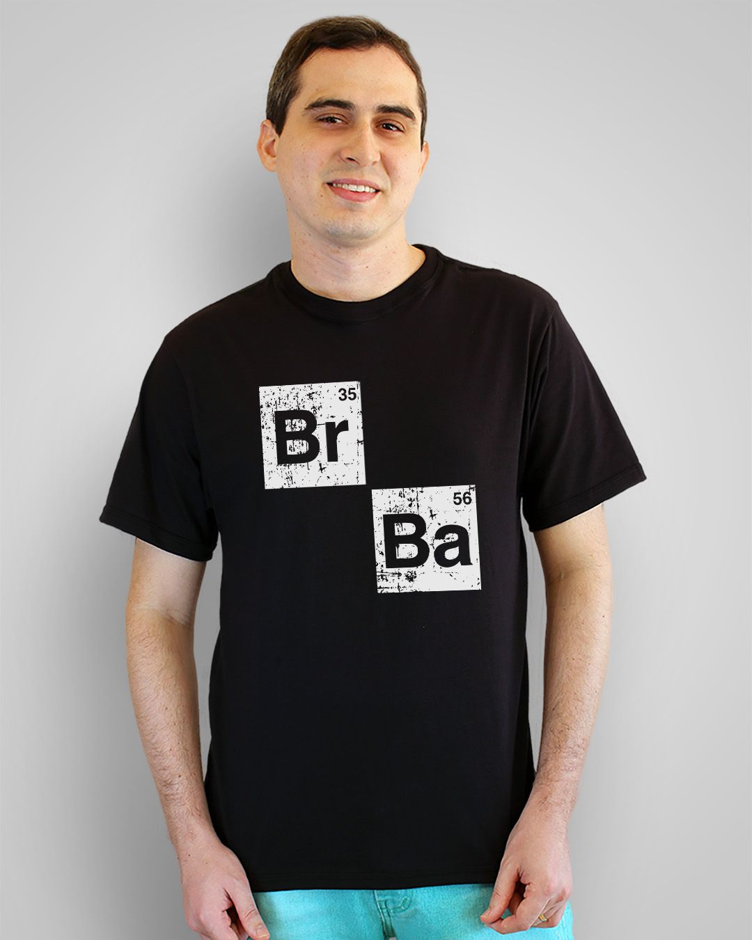 Camiseta Br Ba - Breaking Bad