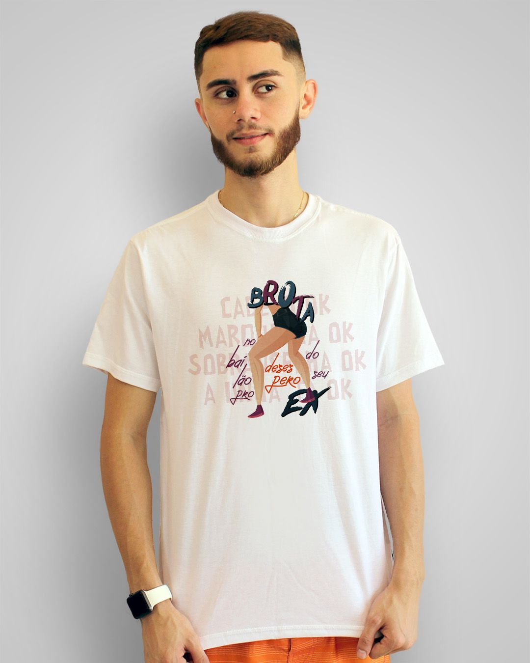 Camiseta Brota no bailão pro desespero do seu ex - Thiaguinho MT