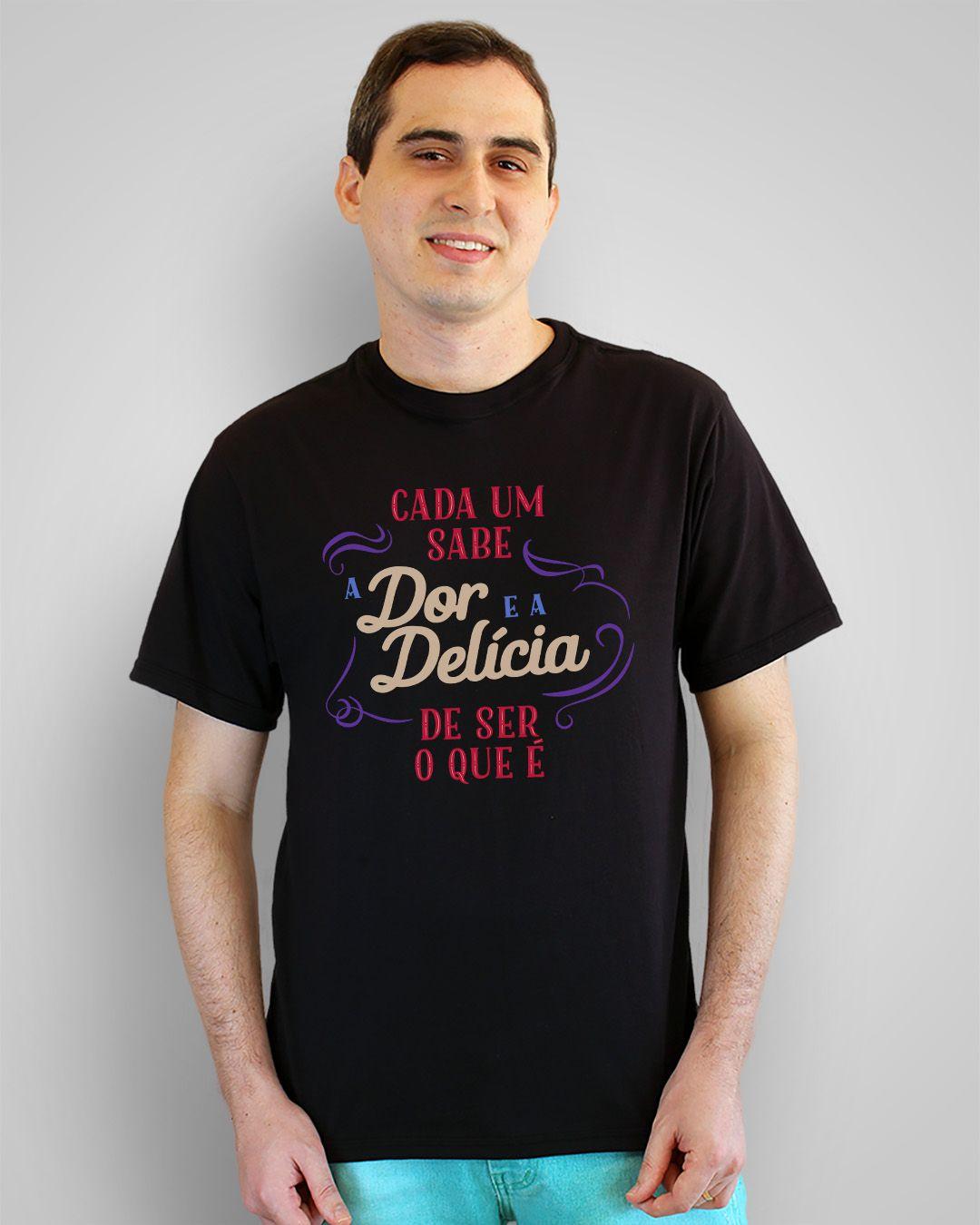 Camiseta Cada um sabe a dor e a delícia de ser o que é - Caetano Veloso ft. Gal Costa
