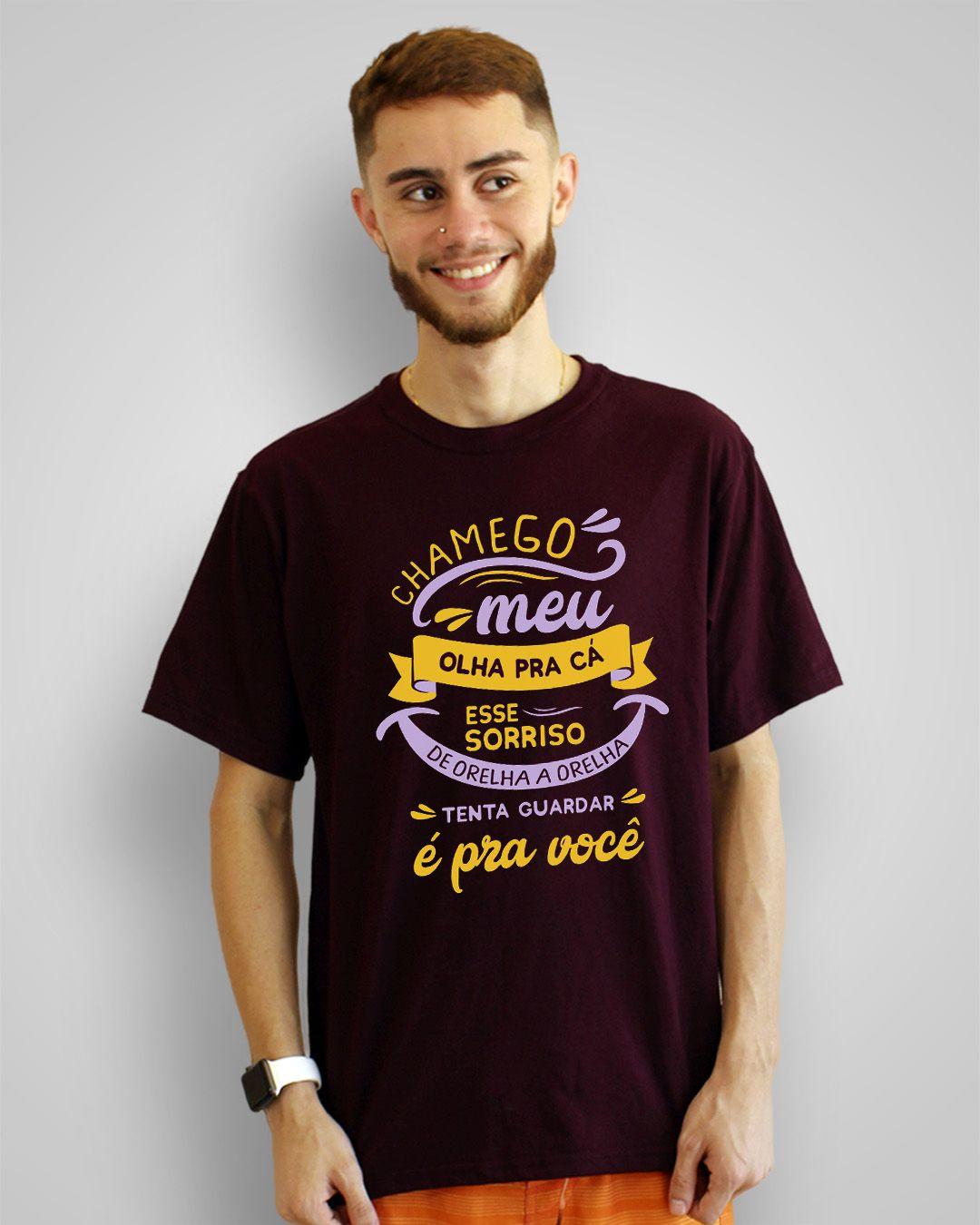 Camiseta Chamego meu, olha pra cá... - Anavitória