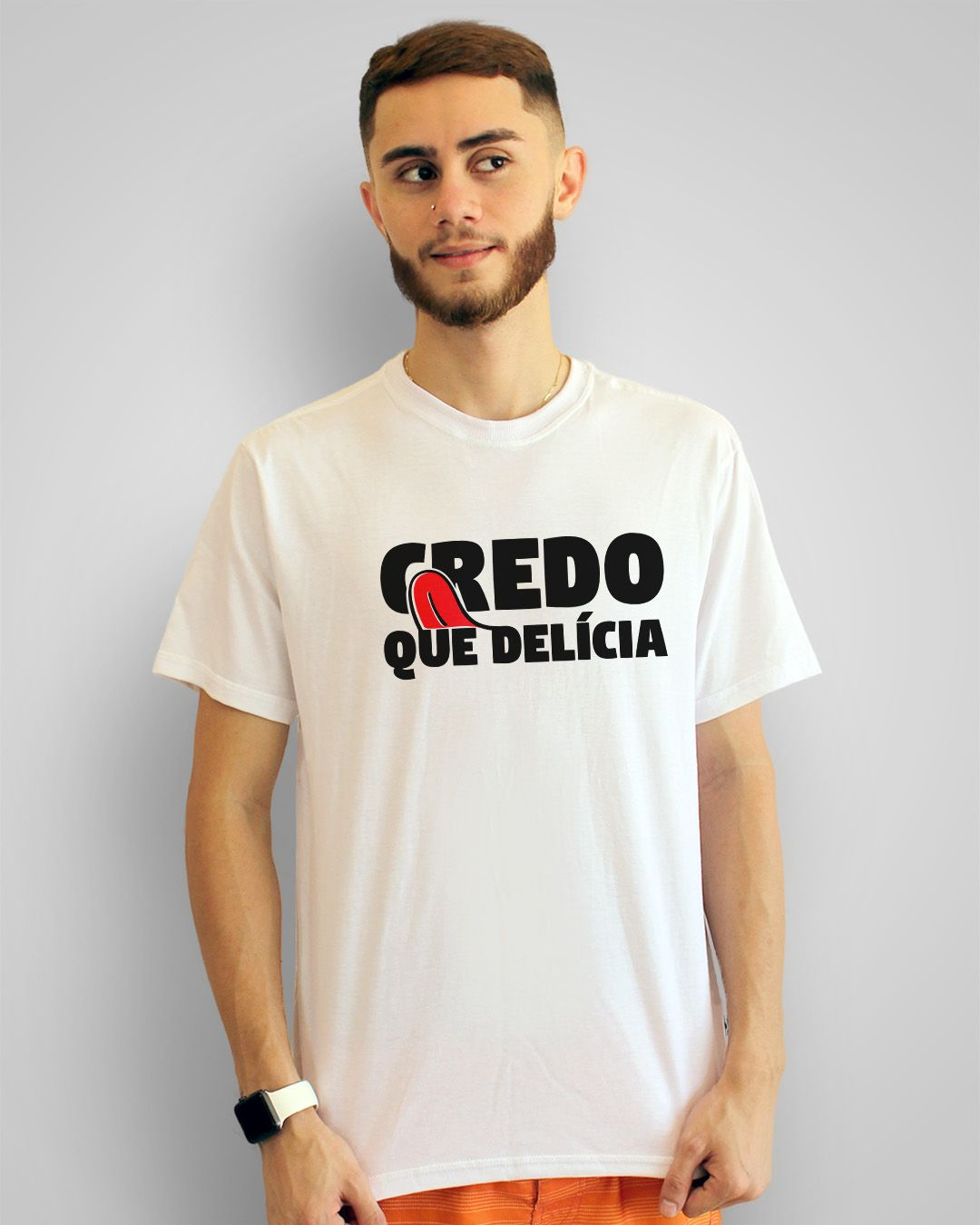 Camiseta Credo, que delícia