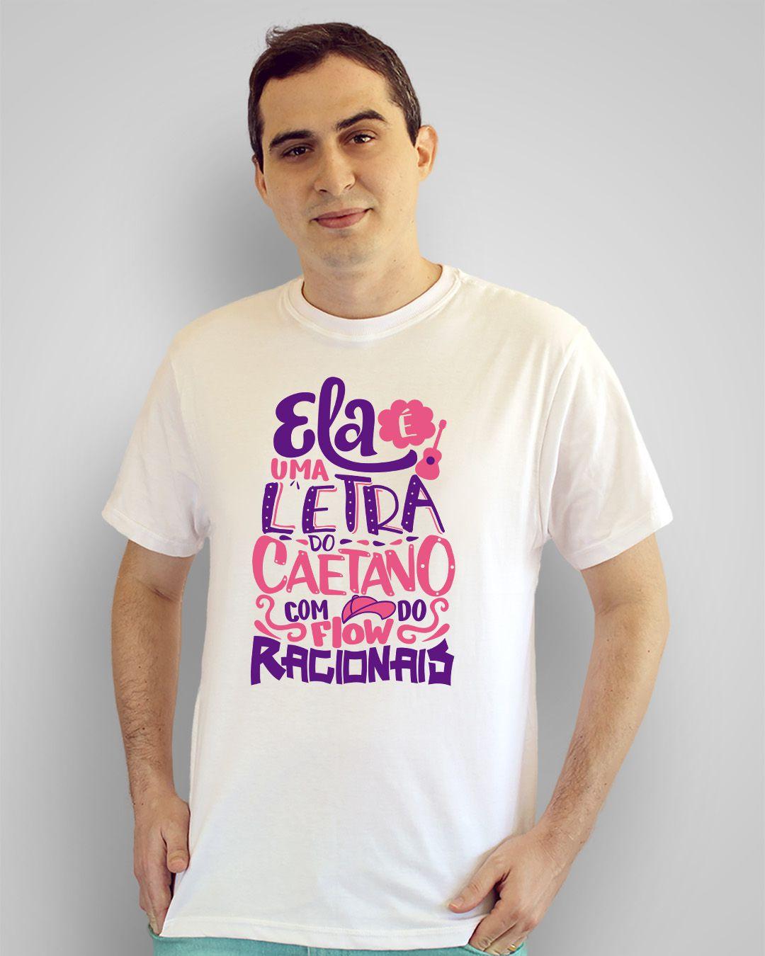 Camiseta Ela é uma letra do Caetano com o flow do Racionais - Projota