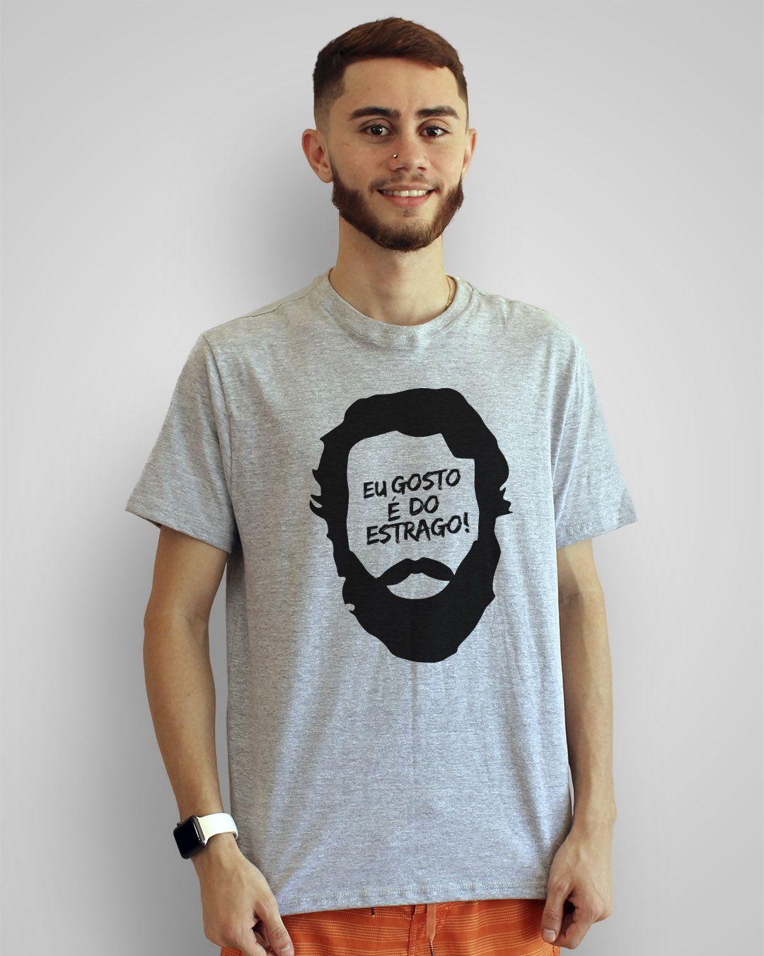 Camiseta Eu gosto é do estrago - Los Hermanos