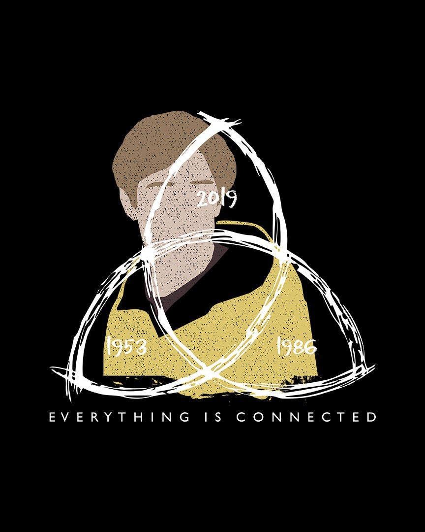 Camiseta Everything is connected - Dark