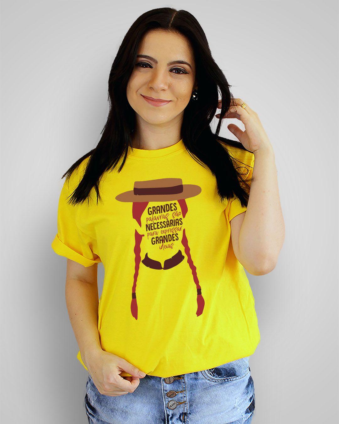Camiseta Grandes palavras são necessárias para expressar grandes ideias - Anne with an E