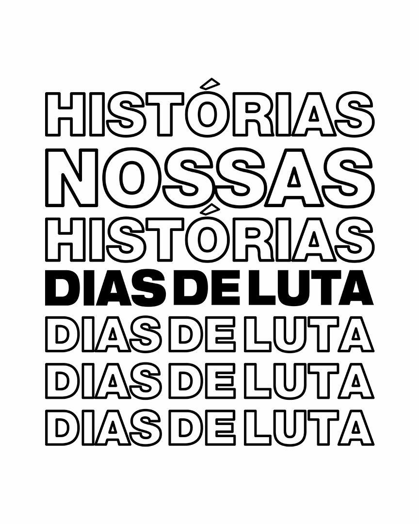 Camiseta Histórias nossas histórias, dias de luta... - Charlie Brown Jr.