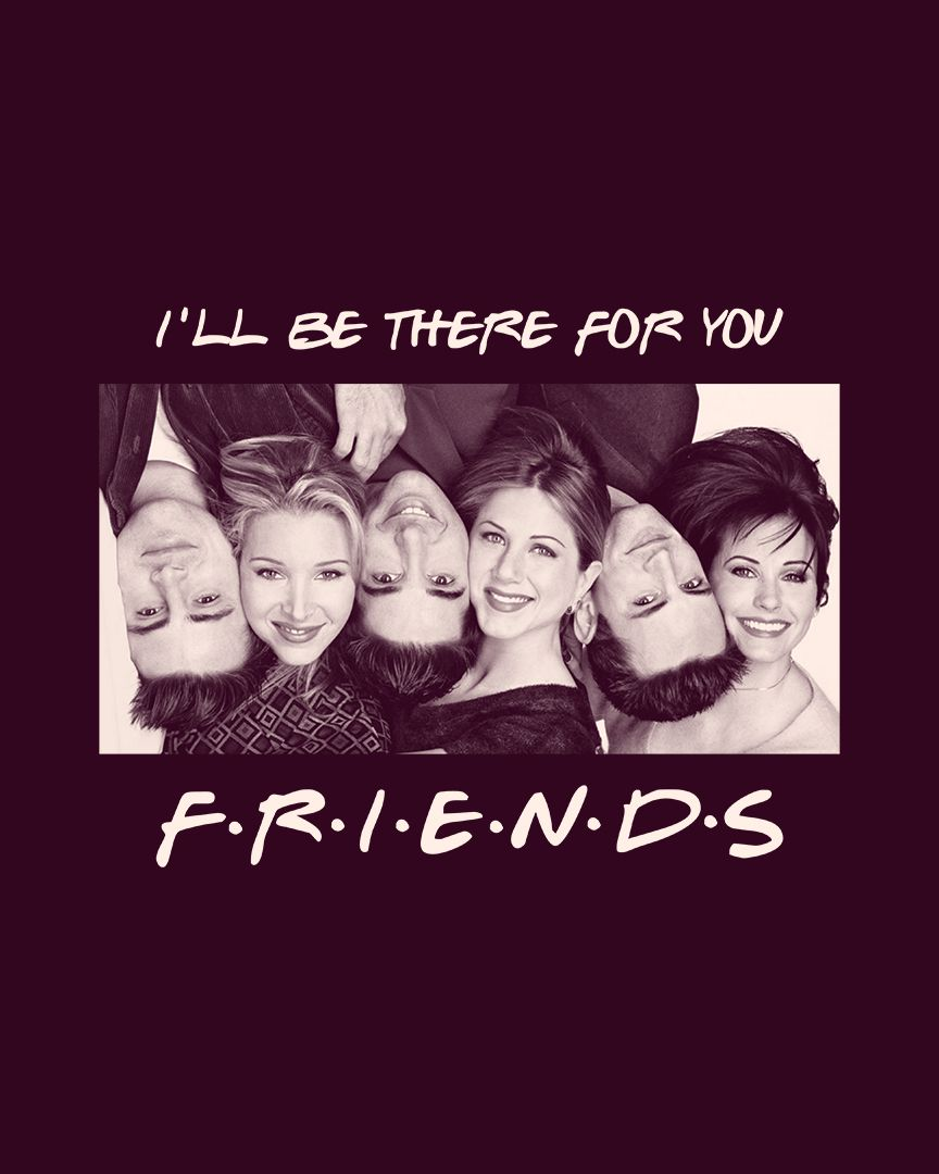 Camiseta I'll be there for you - Friends