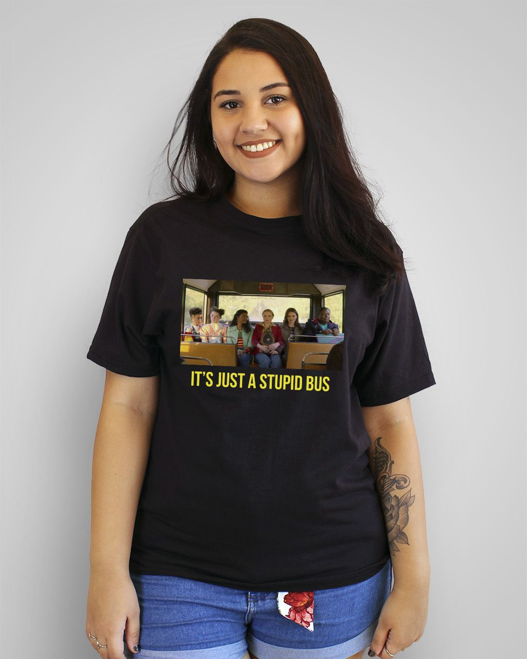 Camiseta It's just a stupid bus - Sex Education