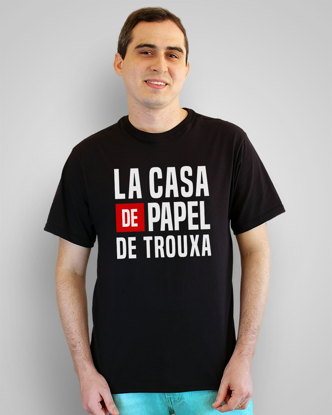 Camiseta La Casa de Papel de Trouxa