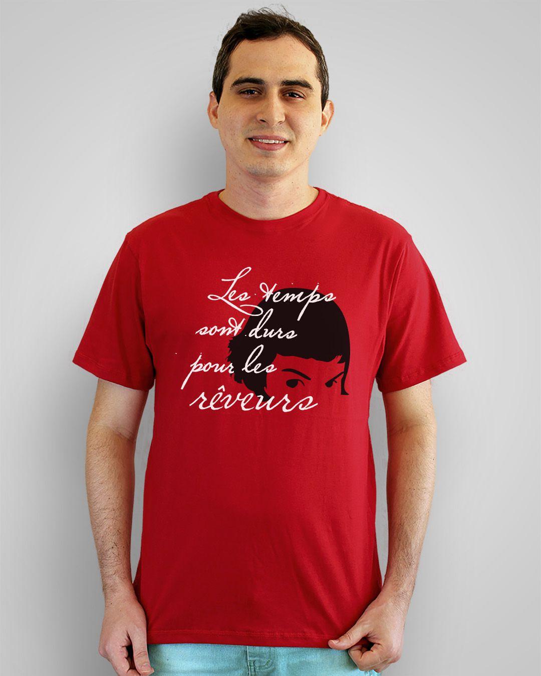 Camiseta Les temps sont durs pour les revêurs - O fabuloso destino de Amélie Poulain