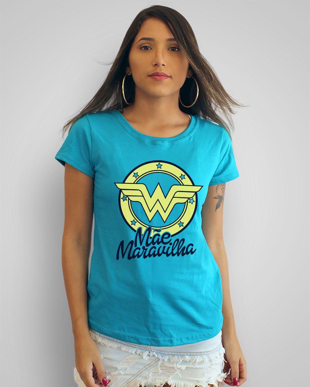 Camiseta Mãe Maravilha