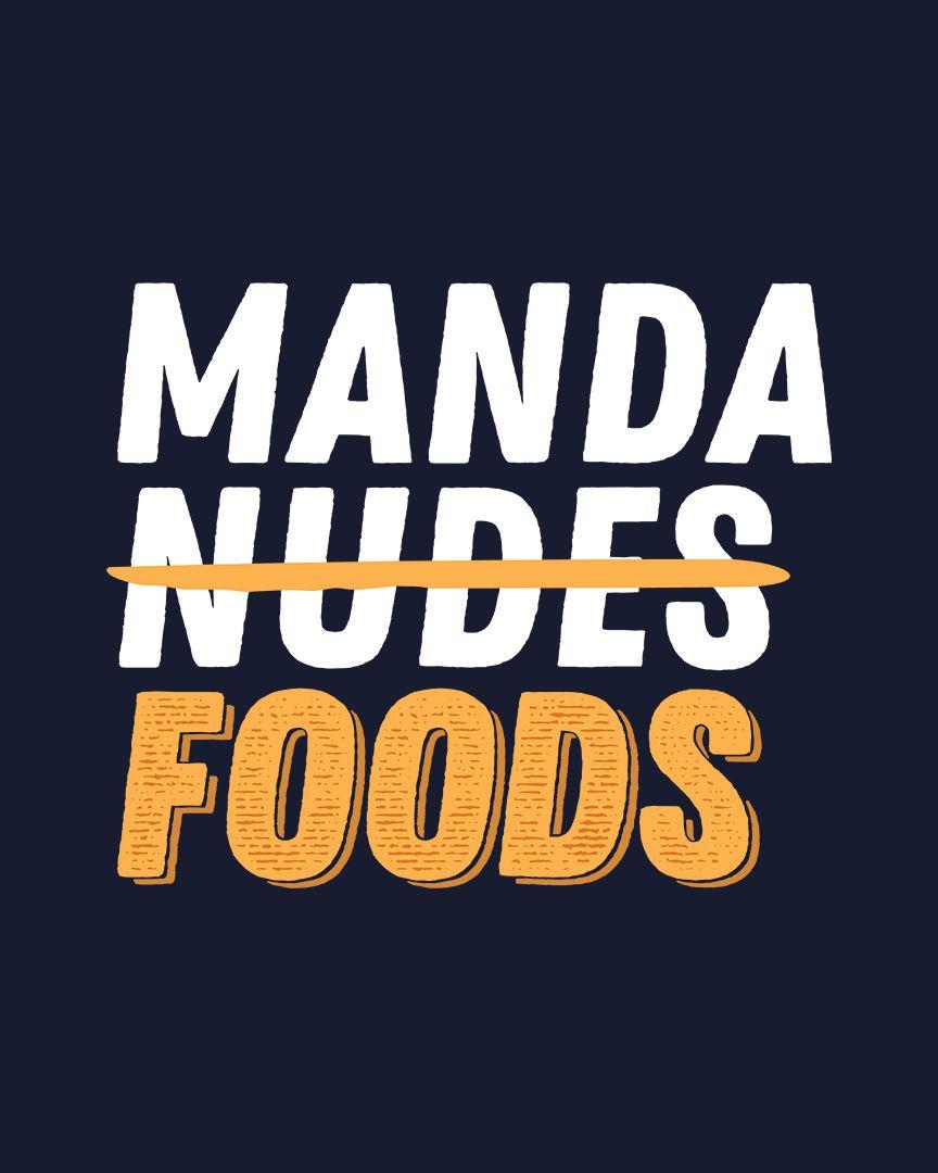 Camiseta Manda foods
