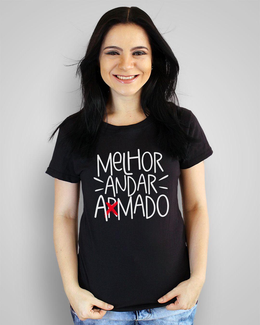 Camiseta Melhor andar amado