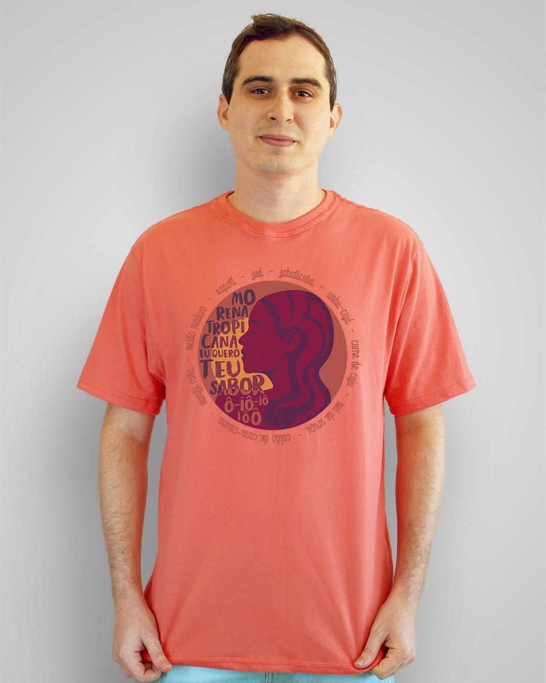 Camiseta Morena tropicana, eu quero teu sabor, ô-iô-iô-iôô - Alceu Valença