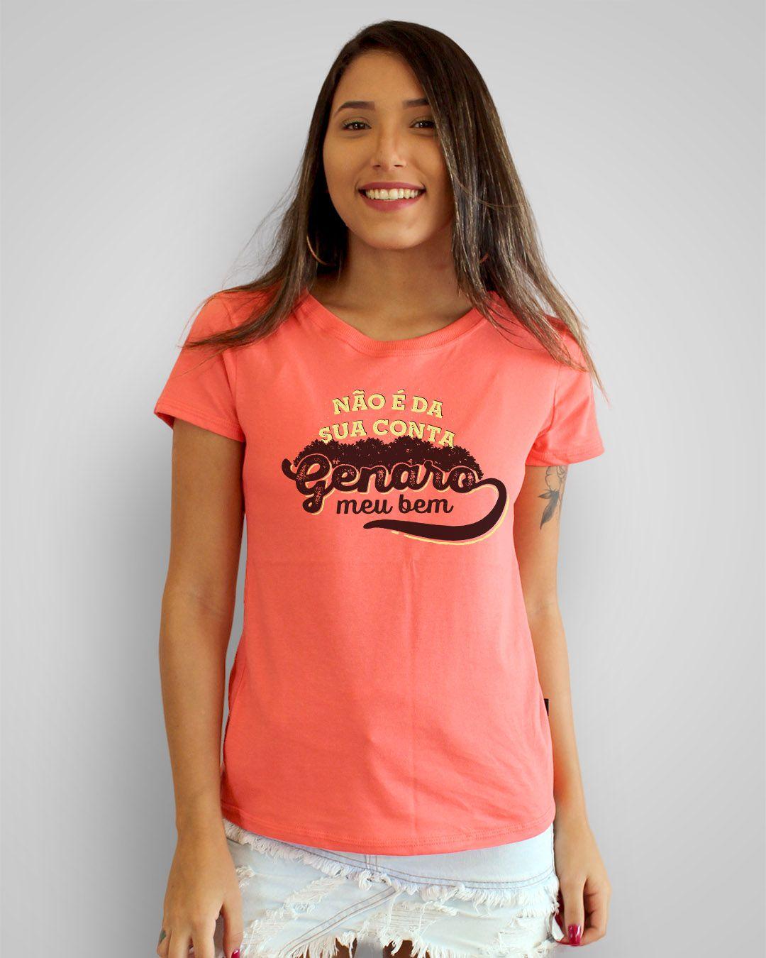 Camiseta Não é da sua conta, Genaro, meu bem - Sandy e Junior