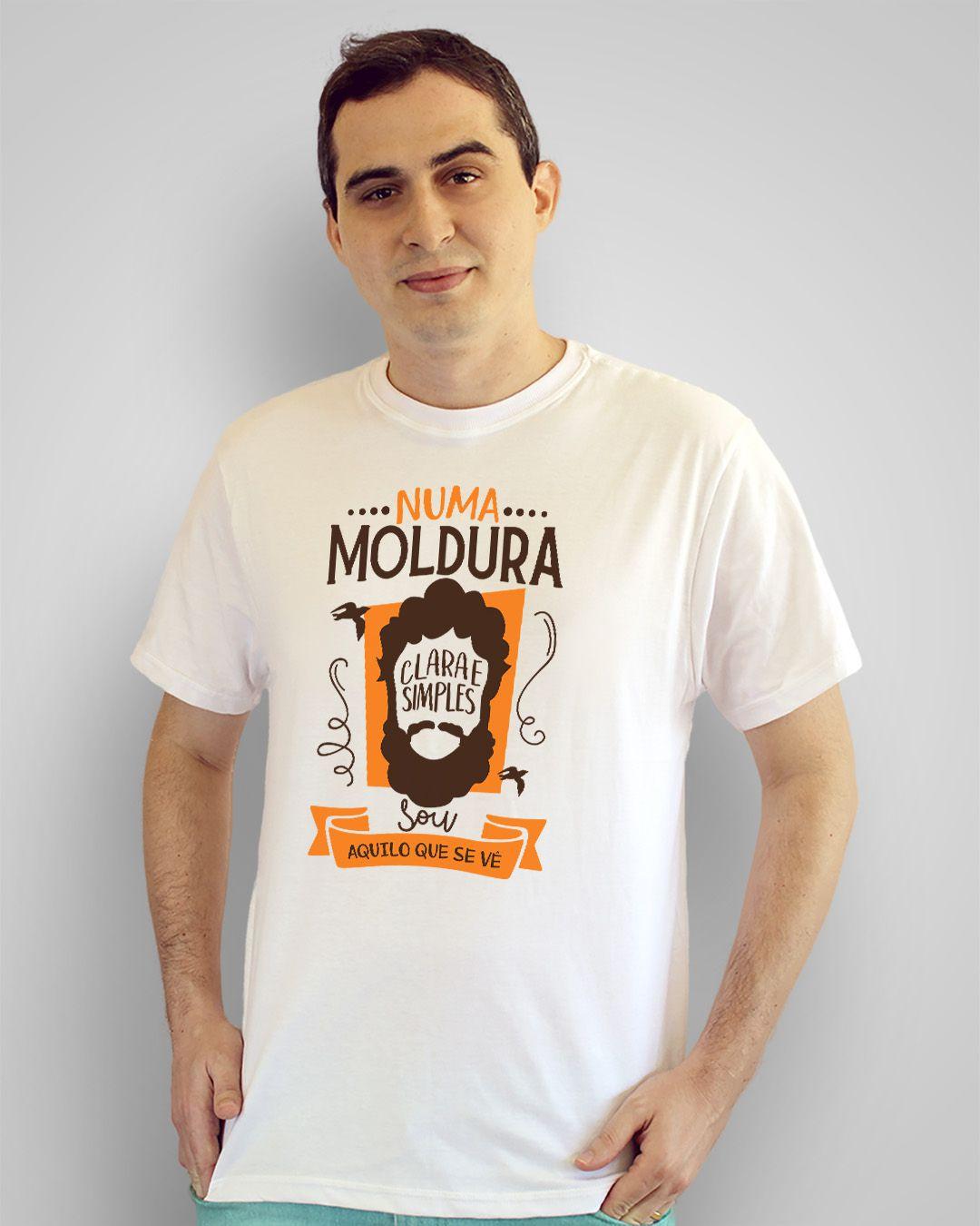 Camiseta Numa moldura clara e simples, sou aquilo que se vê - Los Hermanos