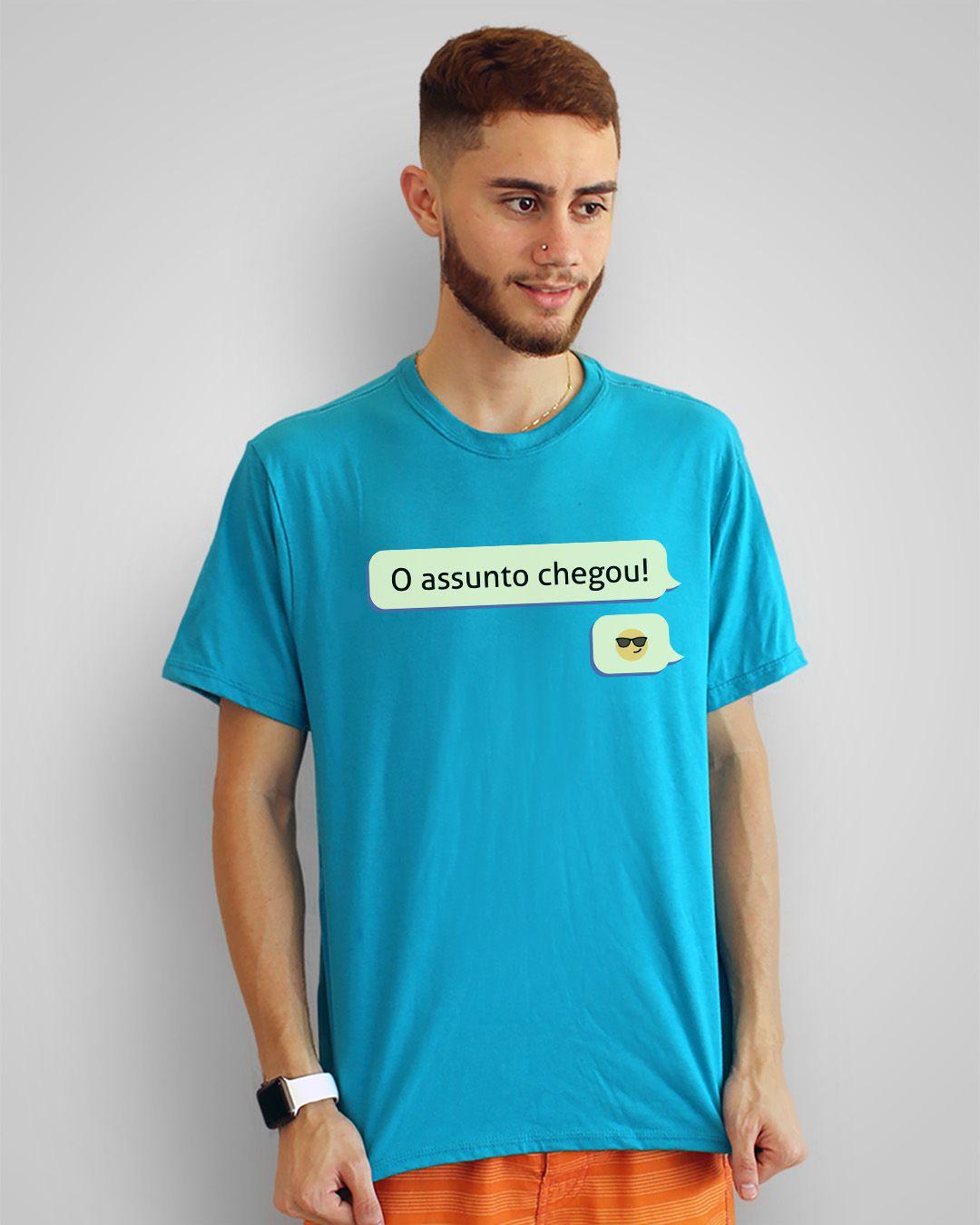Camiseta O assunto chegou