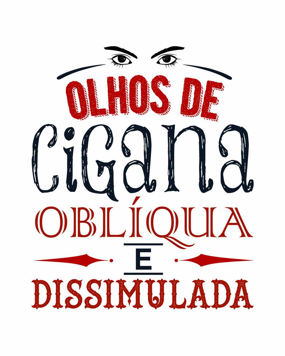 Camiseta Olhos de cigana oblíqua e dissimulada - Dom Casmurro