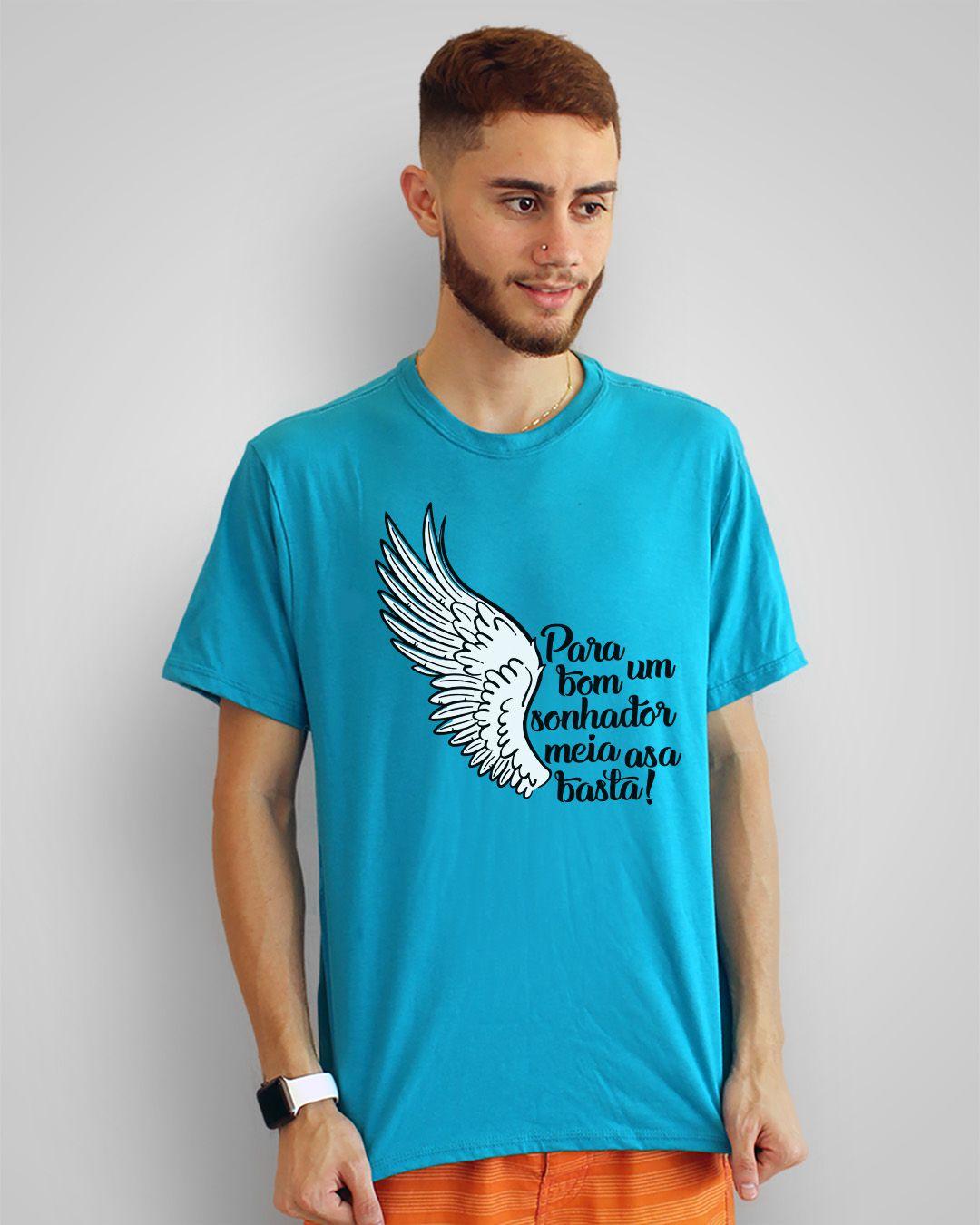 Camiseta Para um bom sonhador, meia asa basta